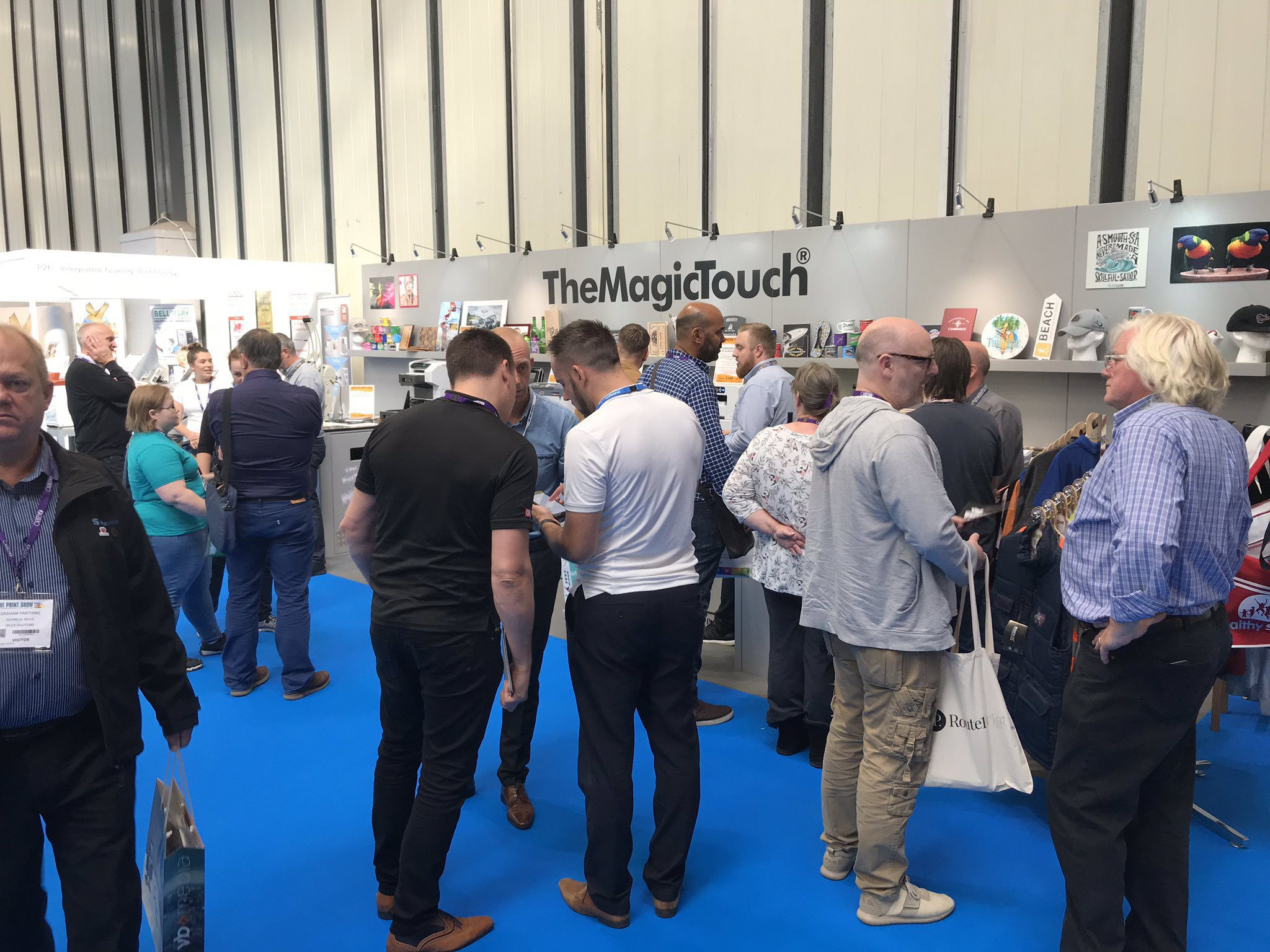 TheMagicTouch commits to The Print Show 2021
