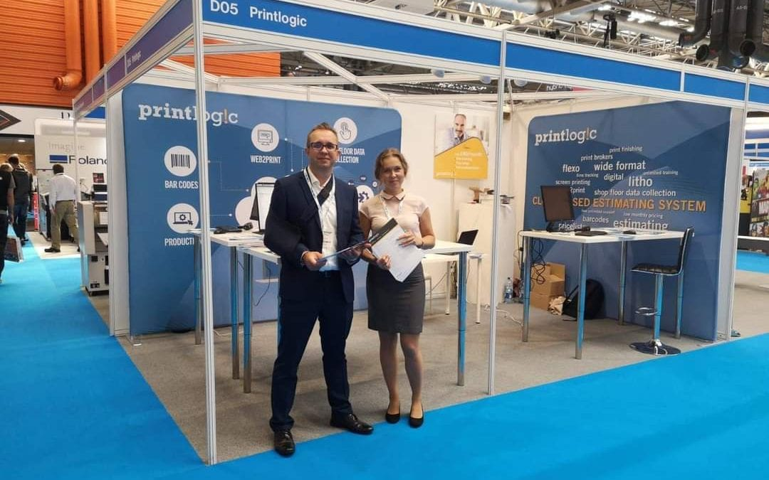Interaction key for Printlogic at Print Show